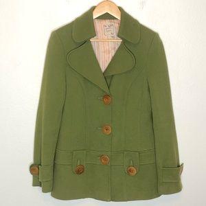 Nanette Lenore | Green Coat L